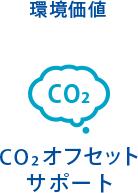 環境価値 CO2オフセットサポート