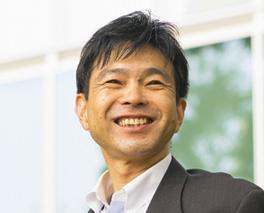 株式会社 エネット経営企画部長谷口直行さん